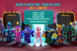 Roblox partners with Ernest Cline on Ready Player Two event