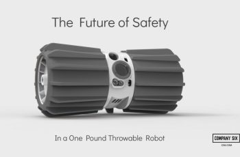 Sphero spinout Company Six launches throwable, video-streaming wheeled drone for first responders