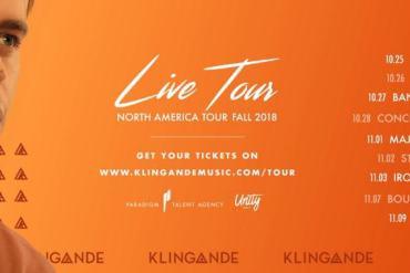 Klingande North American Live Tour Dates