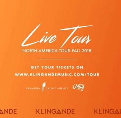 Klingande North American Live Tour Dates