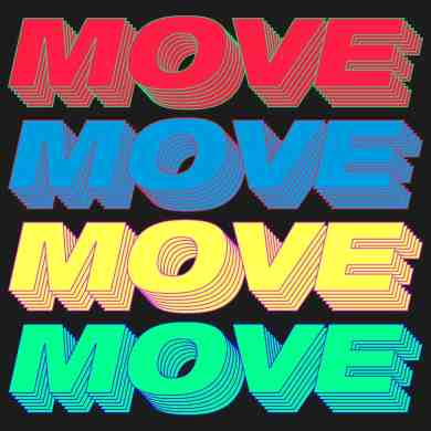Young Romantic - Move (Time To Get Loose) - POSITIVA RECORDS