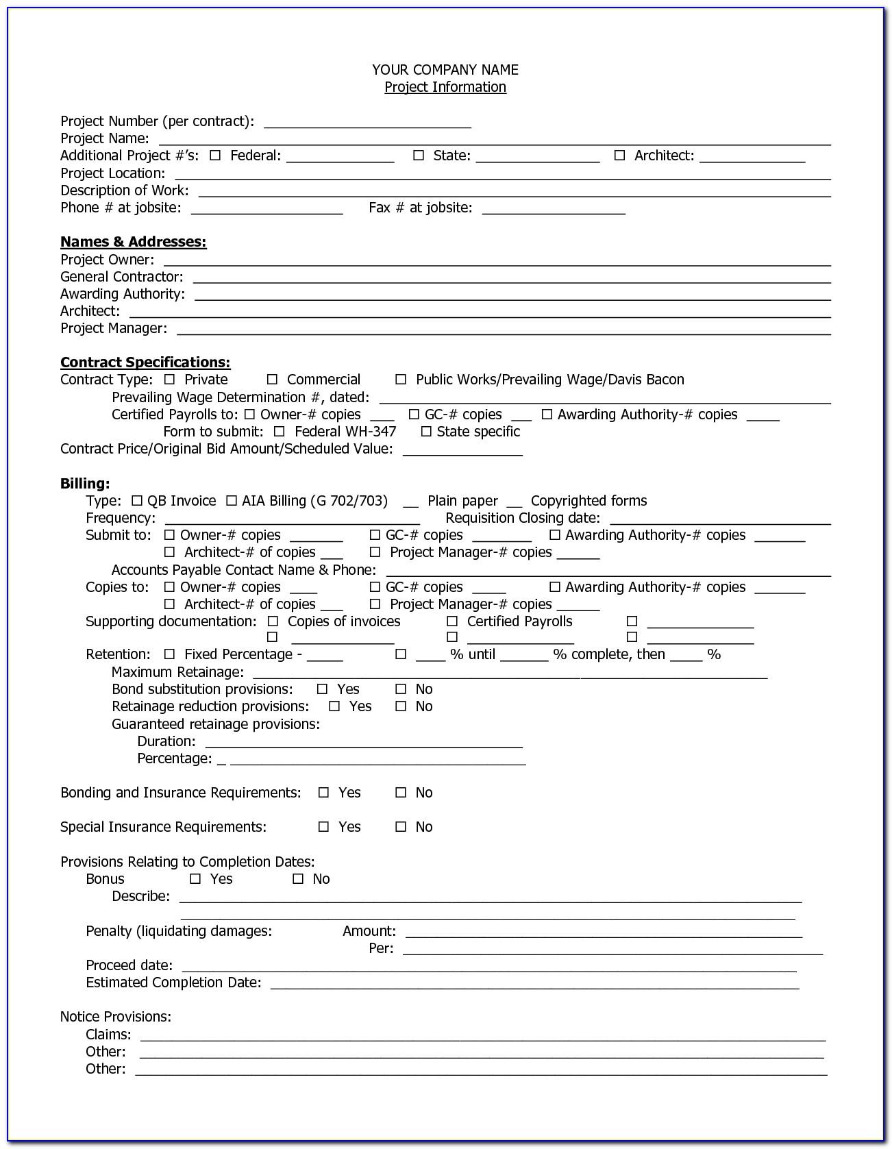 Aia Invoice Form Aia Invoice Form