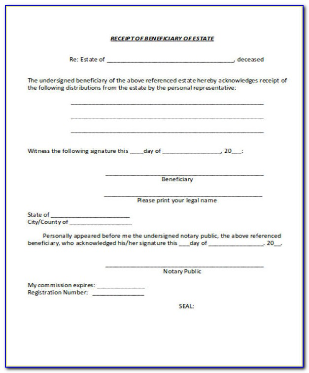 Beneficiary Deed Form Florida