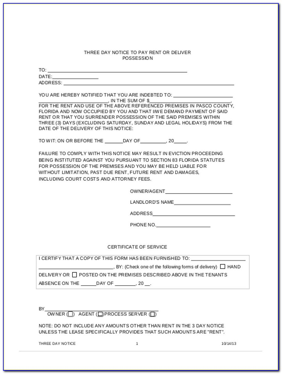 Clay County Florida Eviction Forms