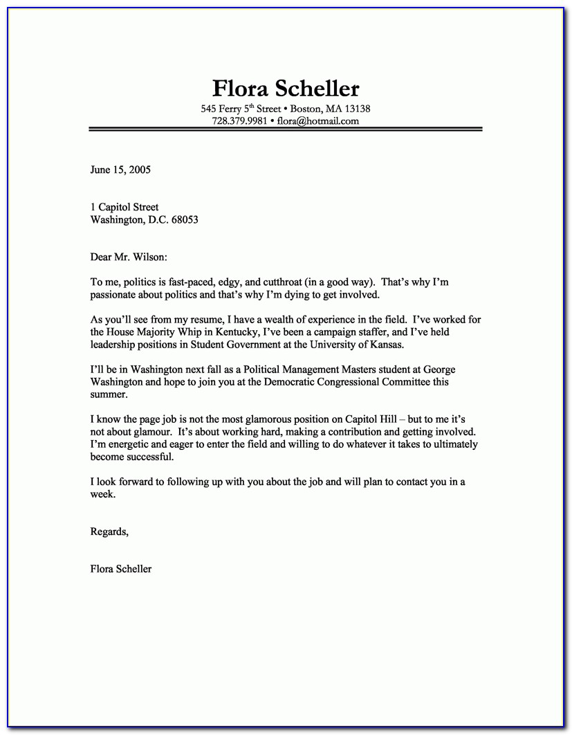 Good Cover Letter For Writers With Sample Good Cover Letter The Writing A Good Cover Letter