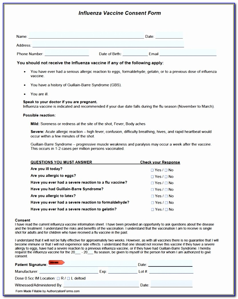 Flu Vaccination Consent Form The Best Medical Children Ideas Simple Vaccination Consent Form Template Elegant Doc Xls Letter Templates Rwtri