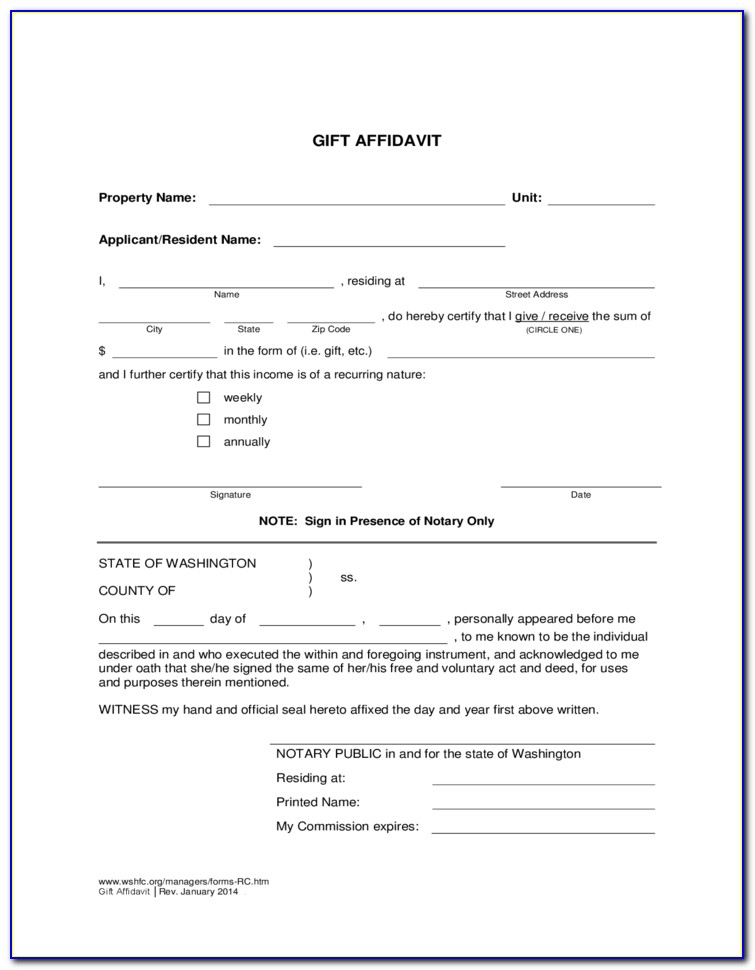 Free Affidavit Of Non Prosecution Form Texas