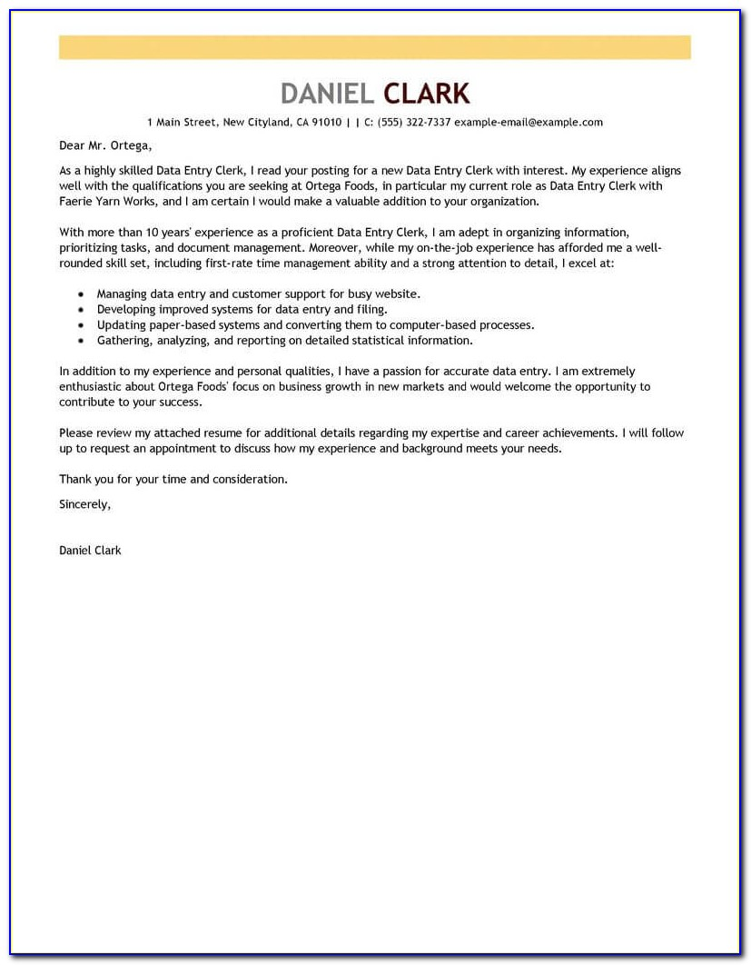 Free Cover Letter Builder Download