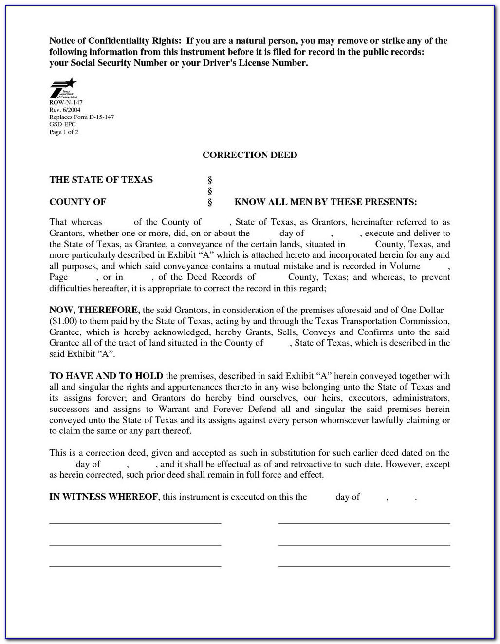 Grant Deed Form California Orange County
