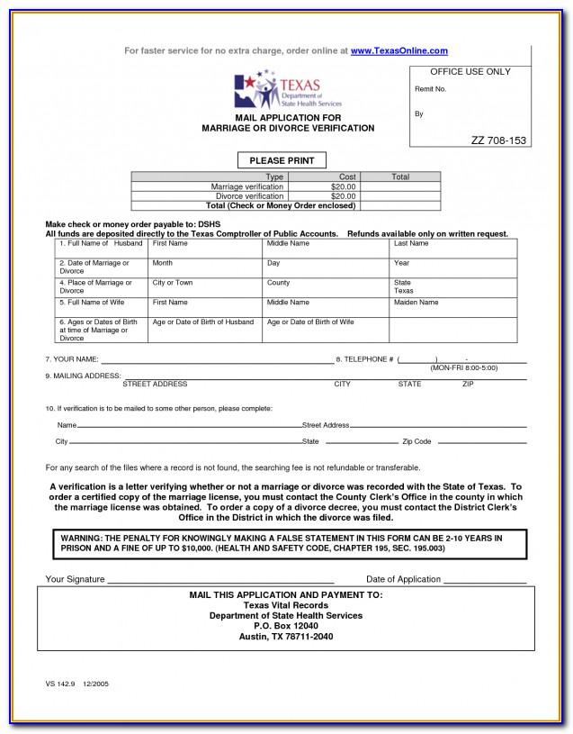 Harris County Clerk Divorce Filing