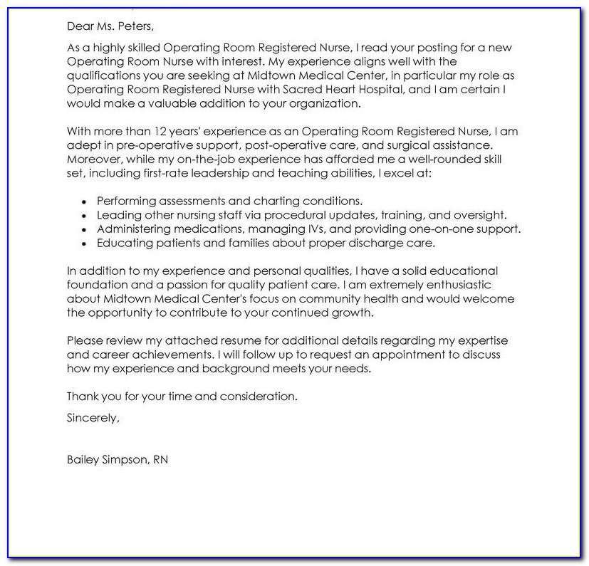 How To Do A Good Resume Cover Letter