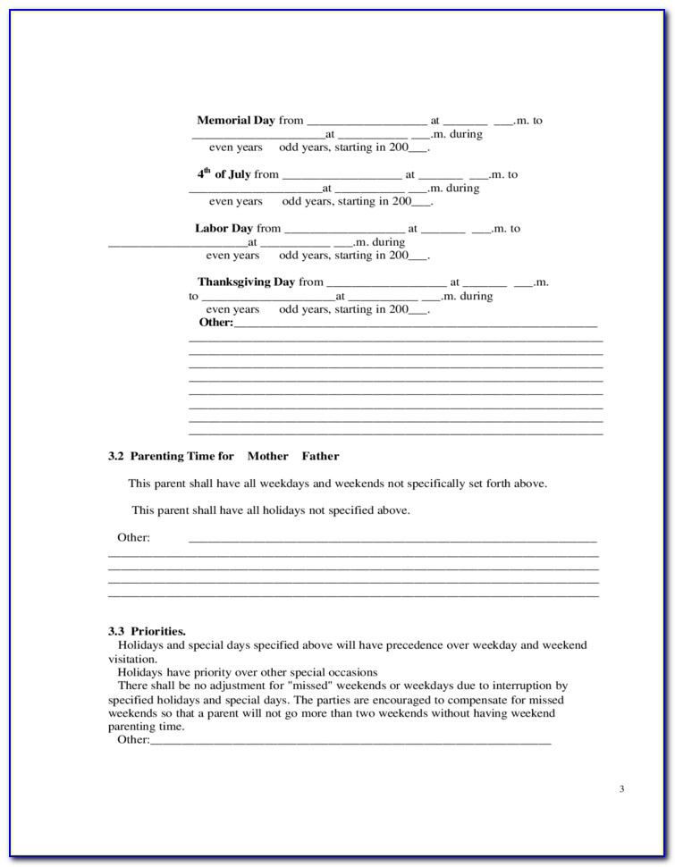 Kansas Temporary Guardianship Forms