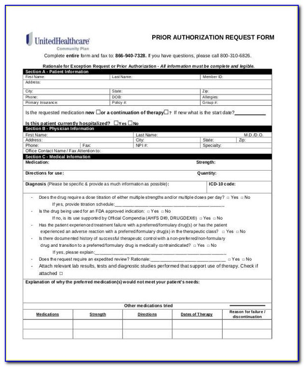 Medco Prior Authorization Form For Cialis