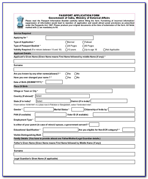 Printable Passport Renewal Form Ds 82