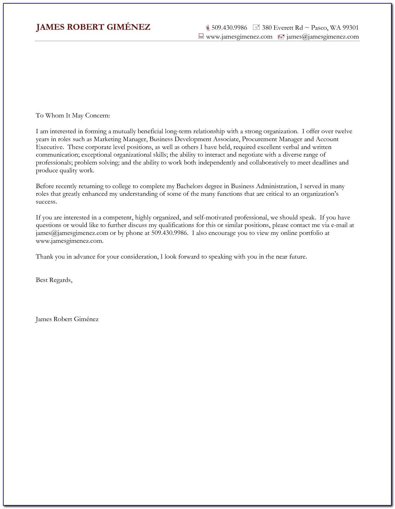 Dazzling Design General Cover Letter For Resume 14 Samples General In Mock Cover Letter