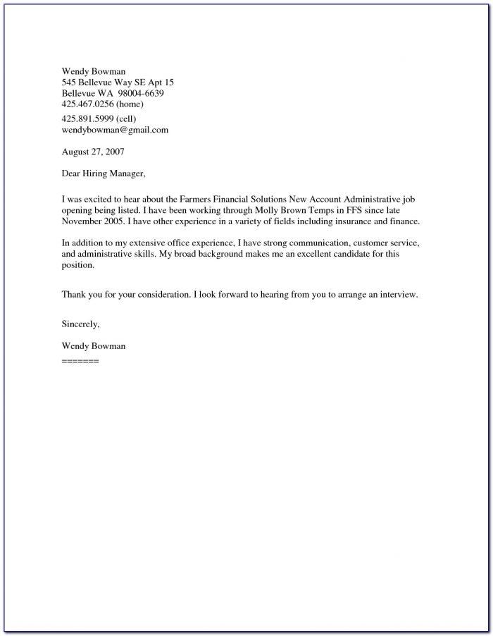 General Cover Letter For Resume Sample General Cover Letter Sample Resume Cover Letter Template