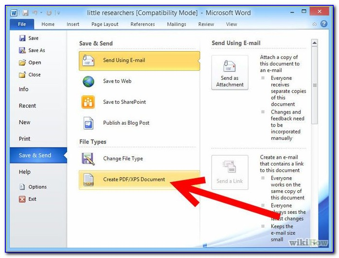 Convert Word Document Into Fillable Pdf Form