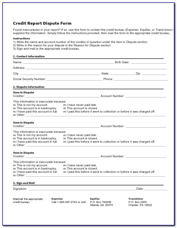 Credit Report Dispute >> Credit Report Dispute Form Form Resume Examples Wqojqbg5x4