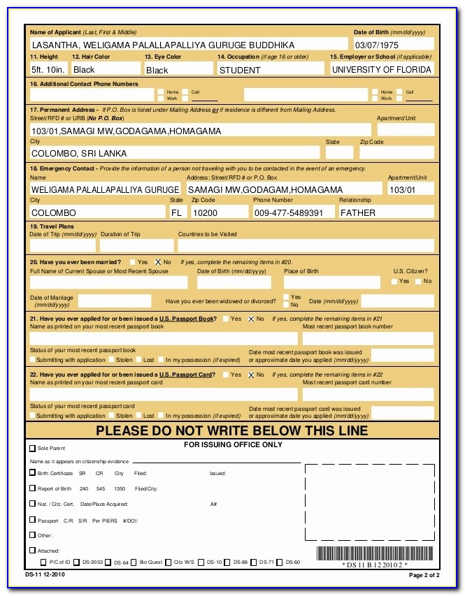 Us Passport Application Form Best Of Passport Renewal Form Ds 82 Passport Renewal Application Form Ds