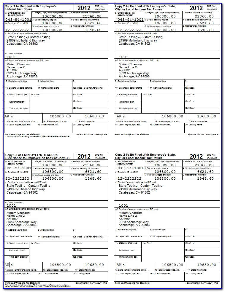 w2 form online  Free W10 Forms Online Printable - Form : Resume Examples ...