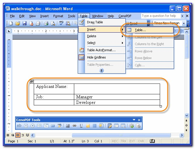 How Do You Convert A Word Document To A Pdf Fillable Form