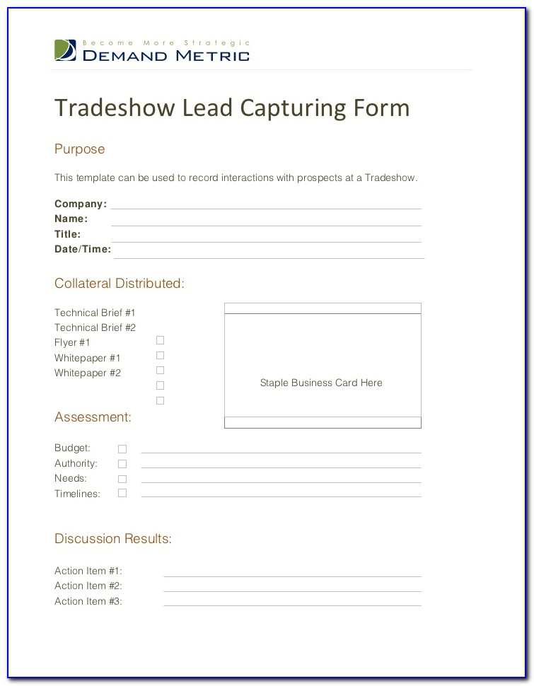 Lead Capture Forms In Facebook