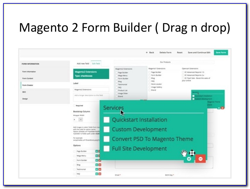 Magento Form Builder Extension Free Download