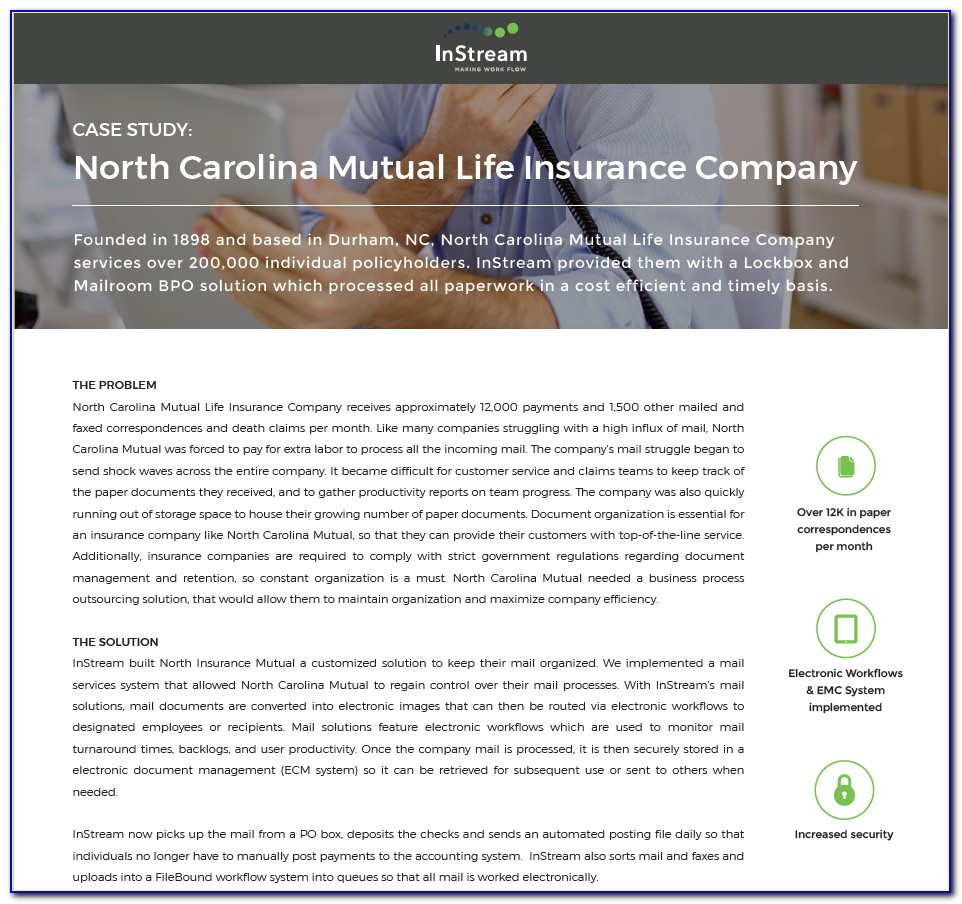 North Carolina Mutual Life Insurance Company Claim Form