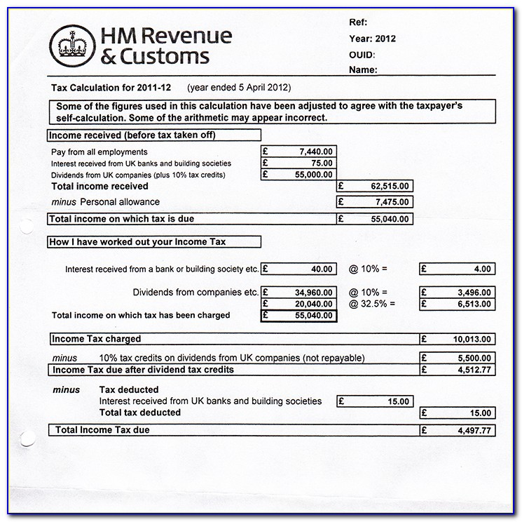 Self Employed Form For Mortgage