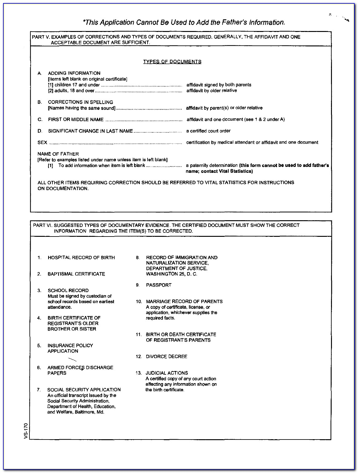 Texas Birth Certificate Order Form