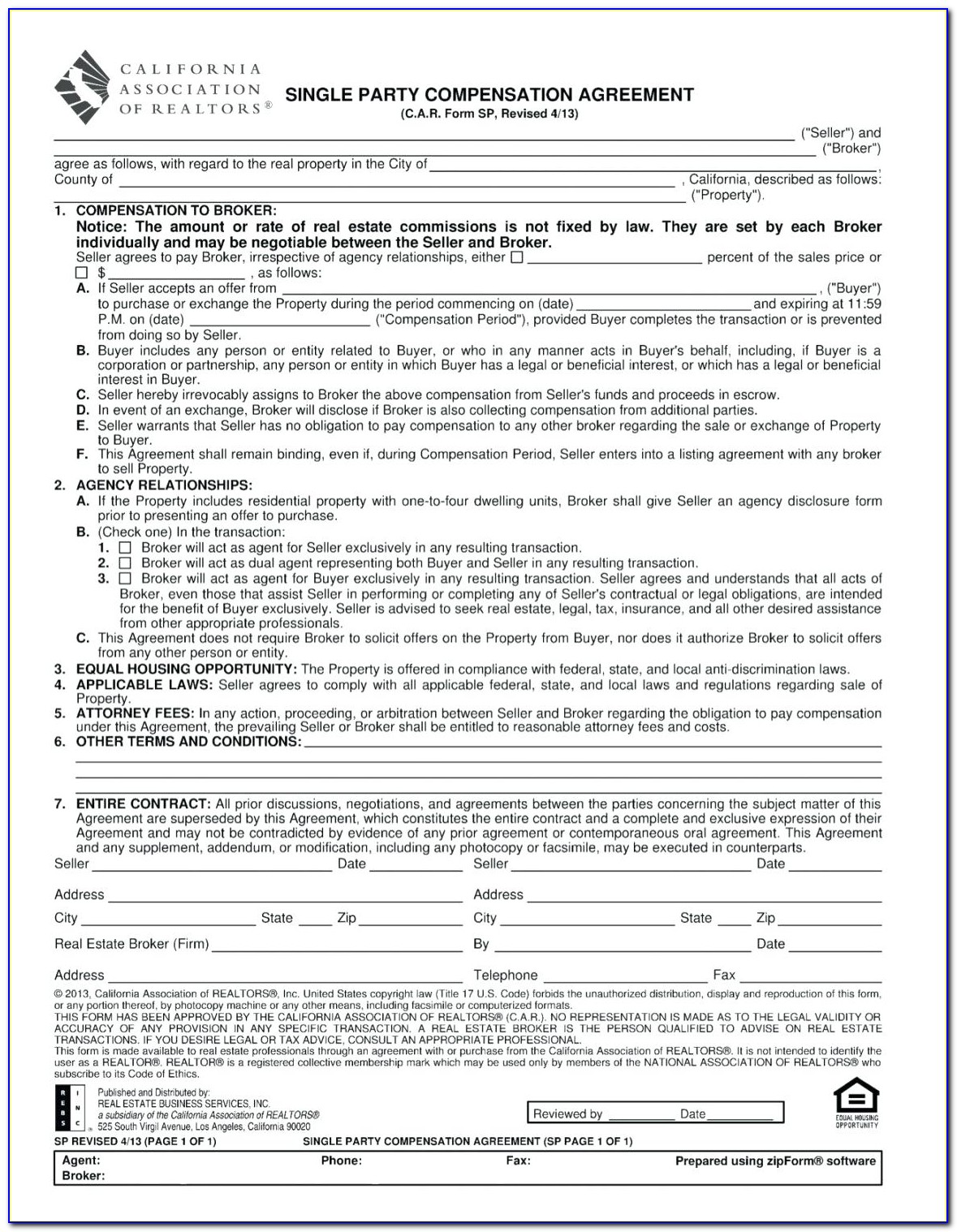 Texas Commercial Real Estate Contract Forms