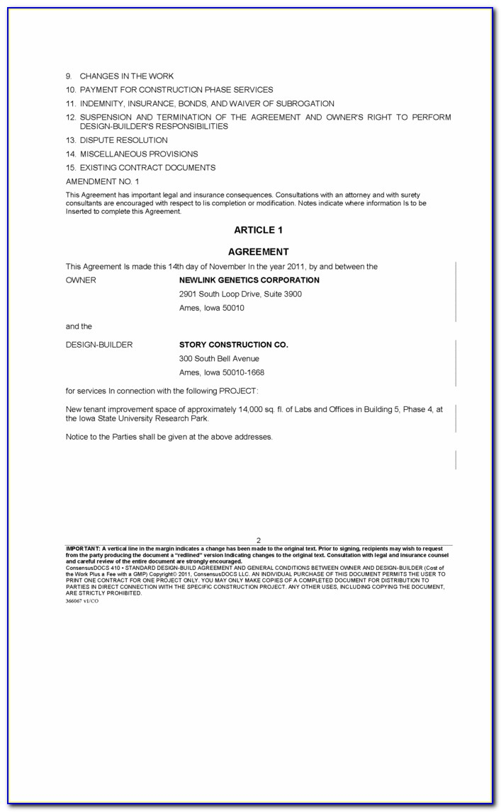Waiver Of Subrogation Workers Compensation Example