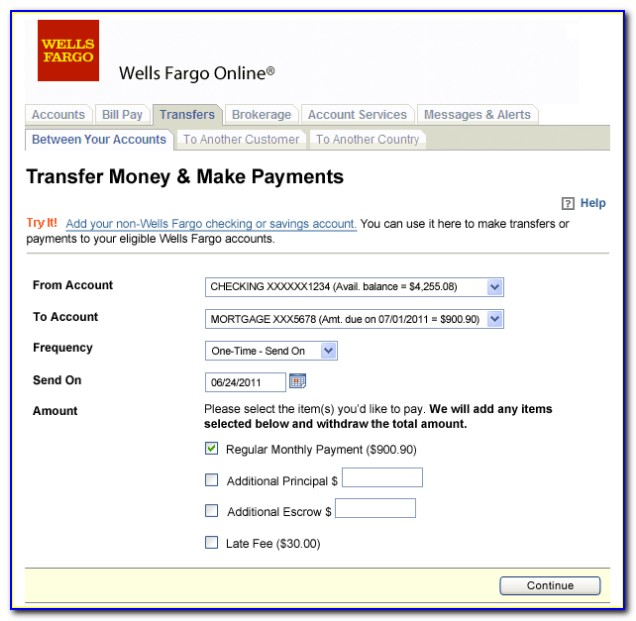 Wells Fargo Mortgage Assistance Application Form