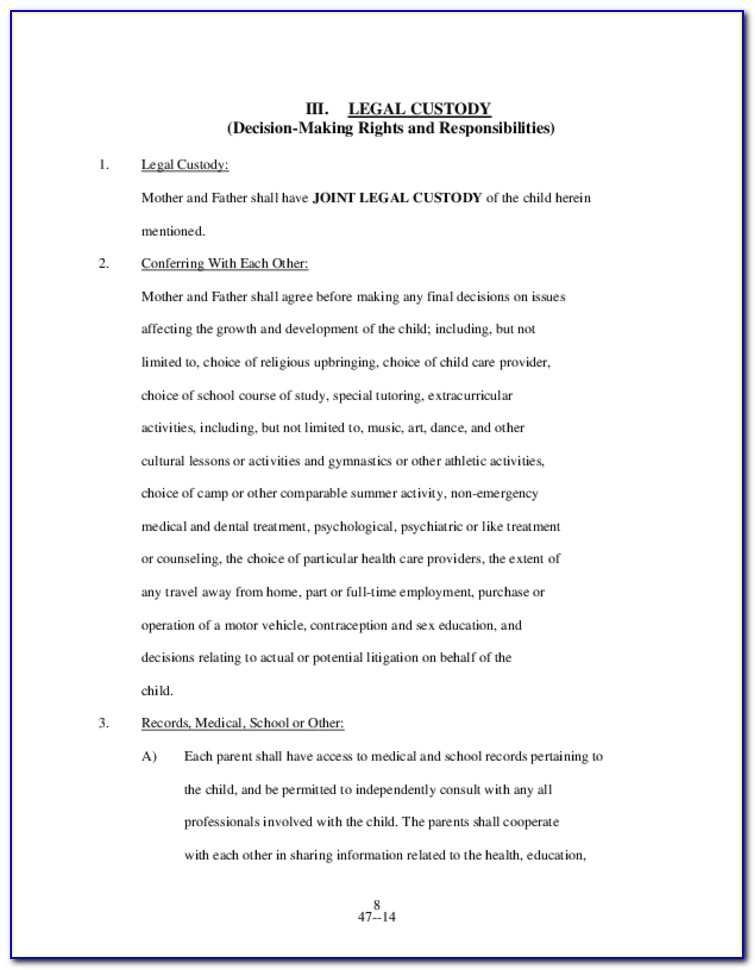 Williamson County Divorce Forms
