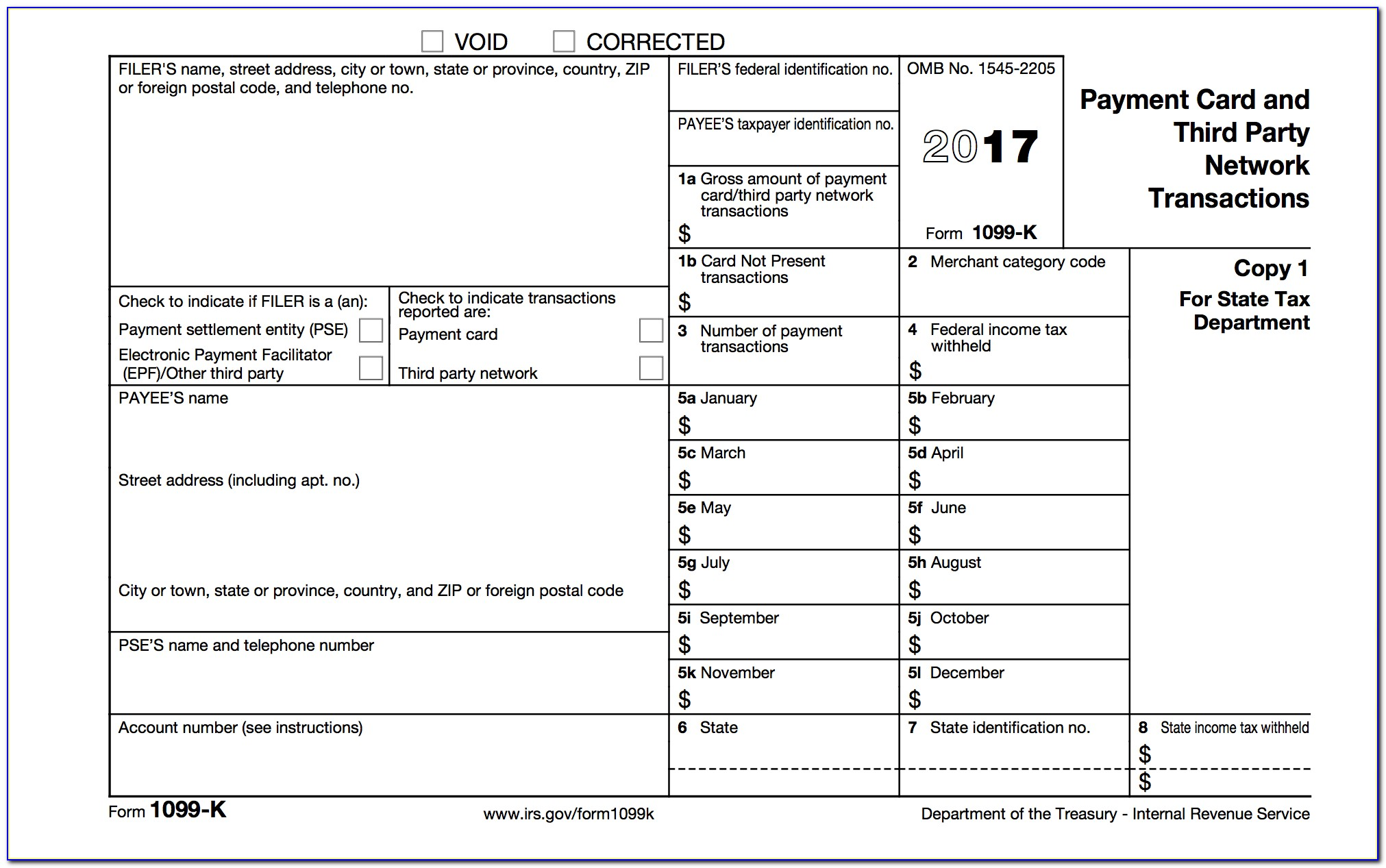 1099 S Reporting Form 2018