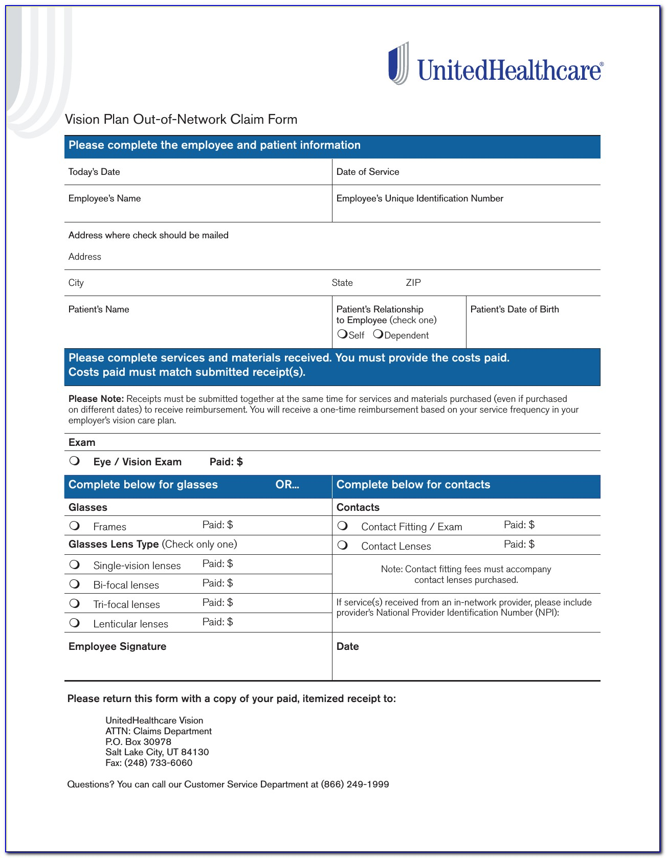 Aarp Insurance Claim Forms