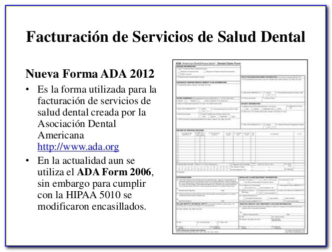 Ada Dental Informed Consent Forms