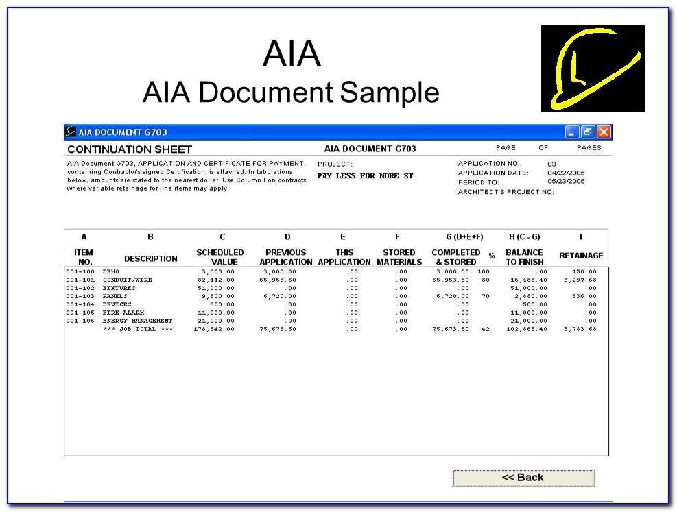 Aia Aia Document Sample