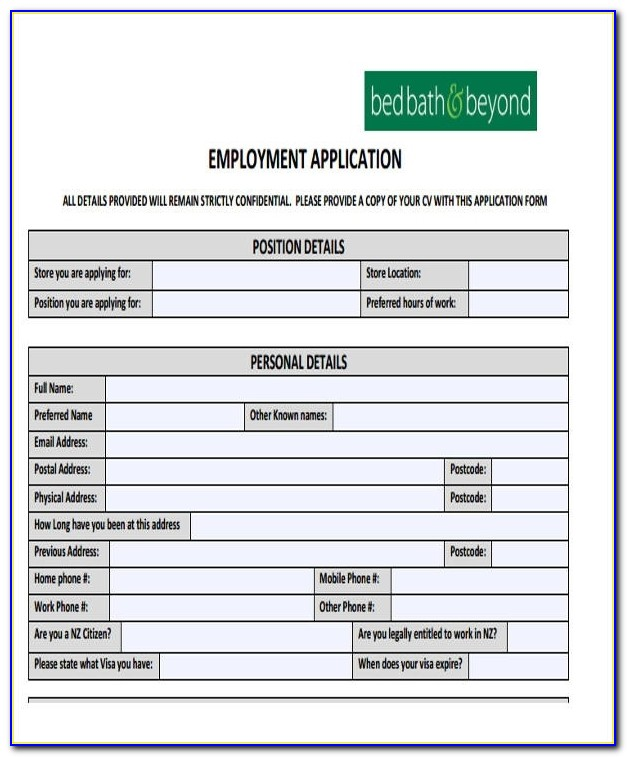 49+ Job Application Form Templates | Free & Premium Templates Intended For Basic Job Application Form