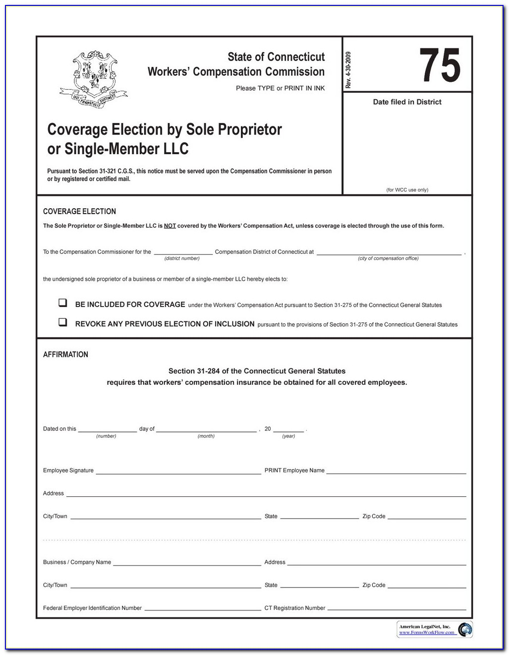 Indiana Workers Compensation Waiver Form