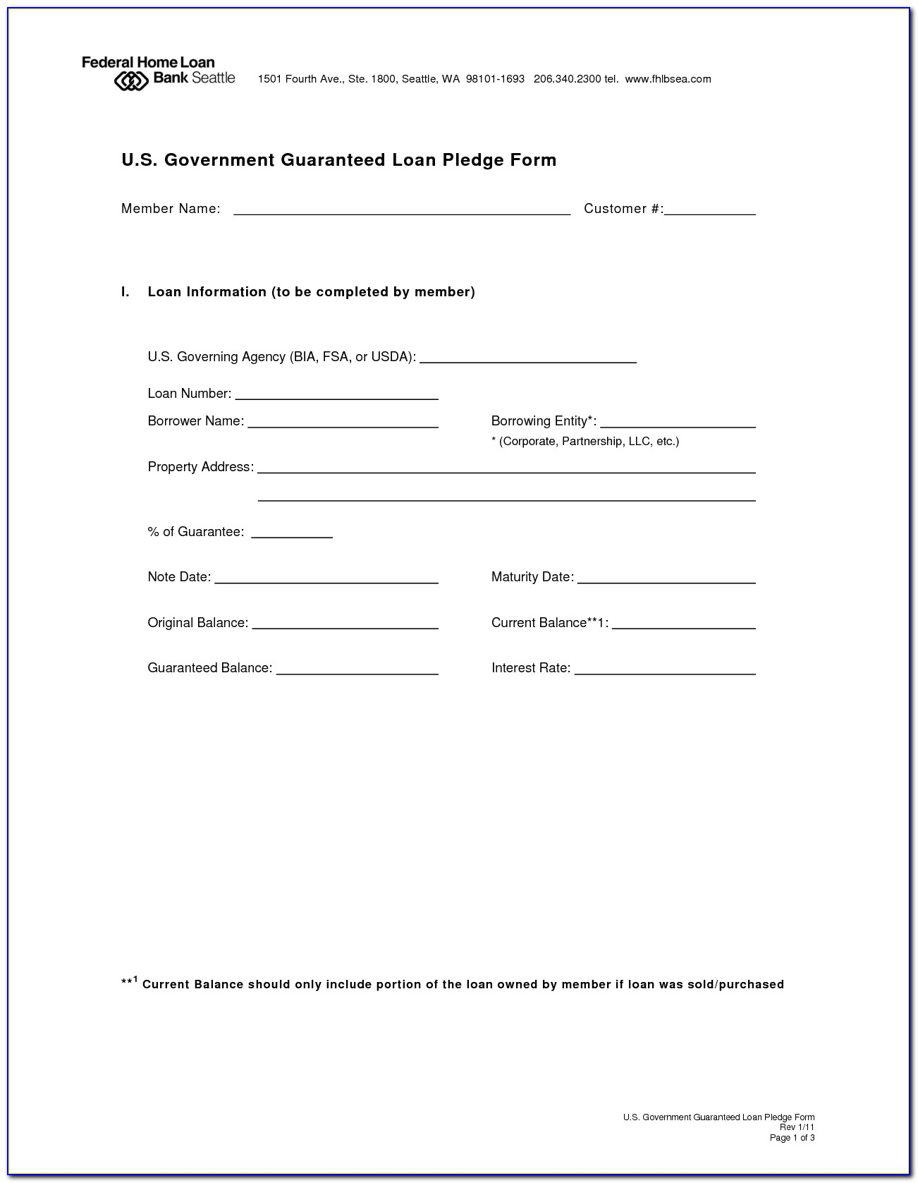 Loan Agreement Form South Africa Template