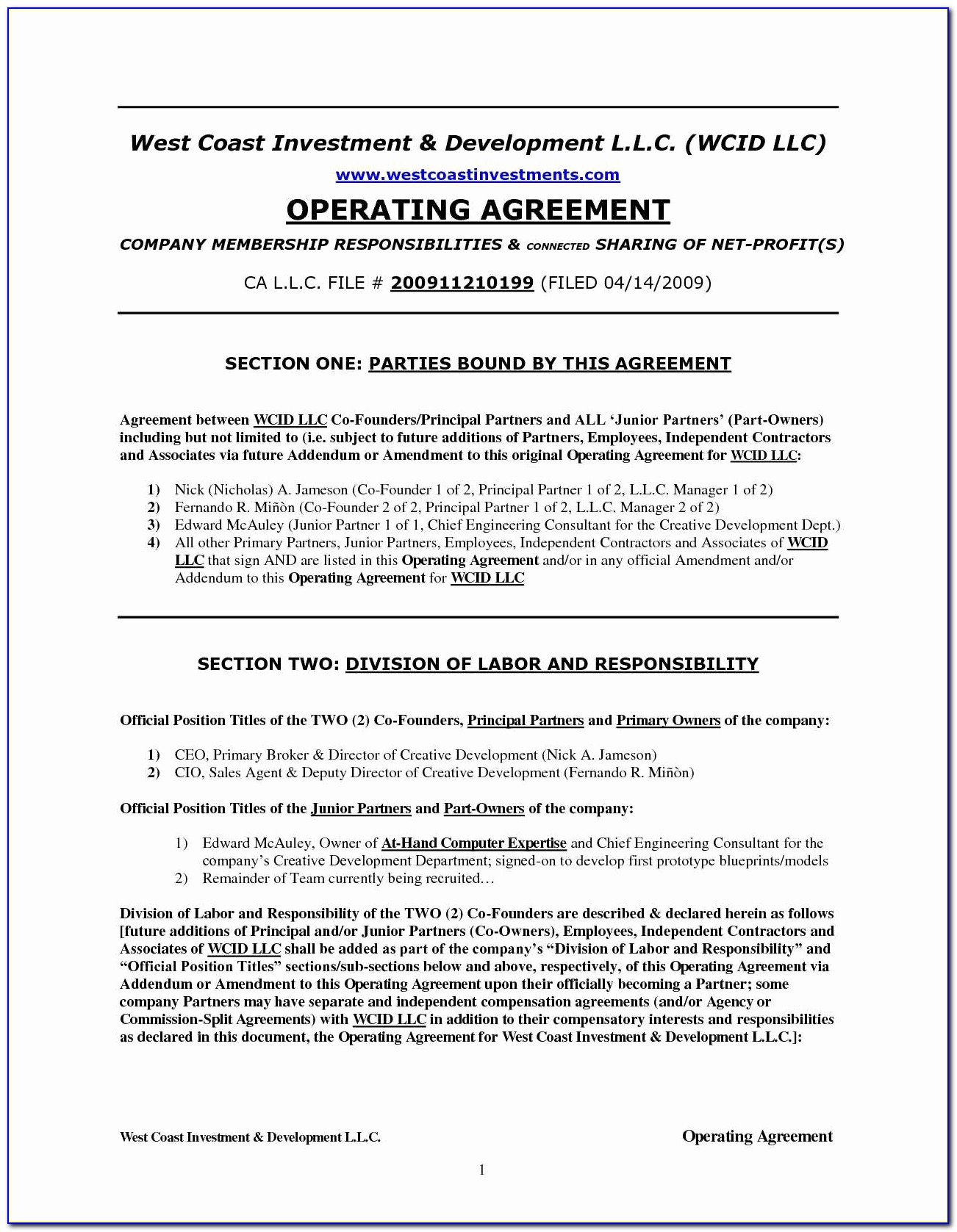 Ira Llc Operating Agreement Template Best Of Ira Llc Operating Agreement Unique Operating Agreement Llc Maryland