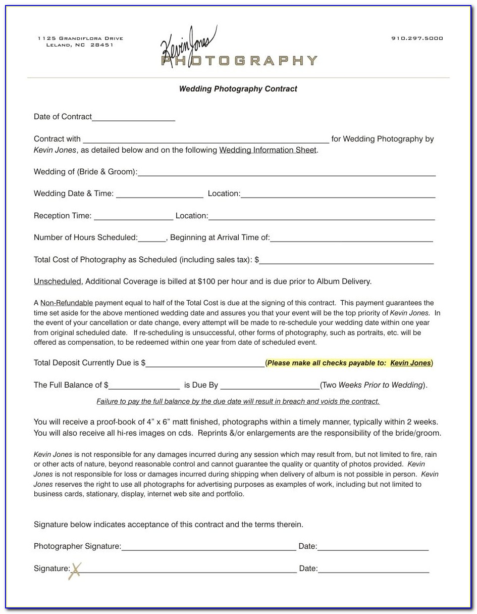Photography Consent Form Template Gdpr