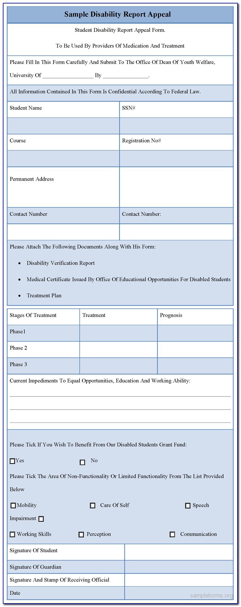 Printable De 2501 Claim Form 2017