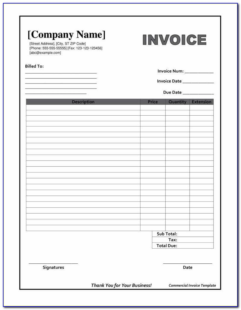 Downloadable Invoice Template Beautiful Printable Invoices Templates And Blank Invoice Form Free