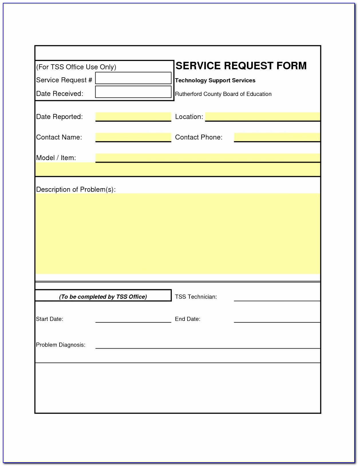Best S Of Job Order Template Work Order Form Template Design Blank Work Order Template Elegant Pdf Word Excel Best Templates Tieep