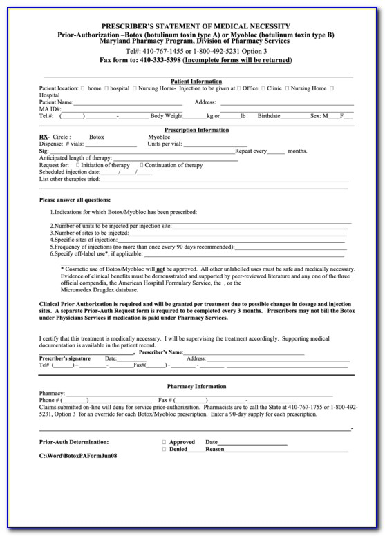 Silverscript Medicare Part D Coverage Determination Request Form