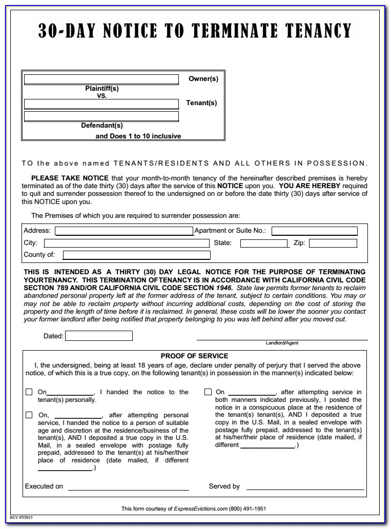 Tenant Eviction Forms Broward County Florida