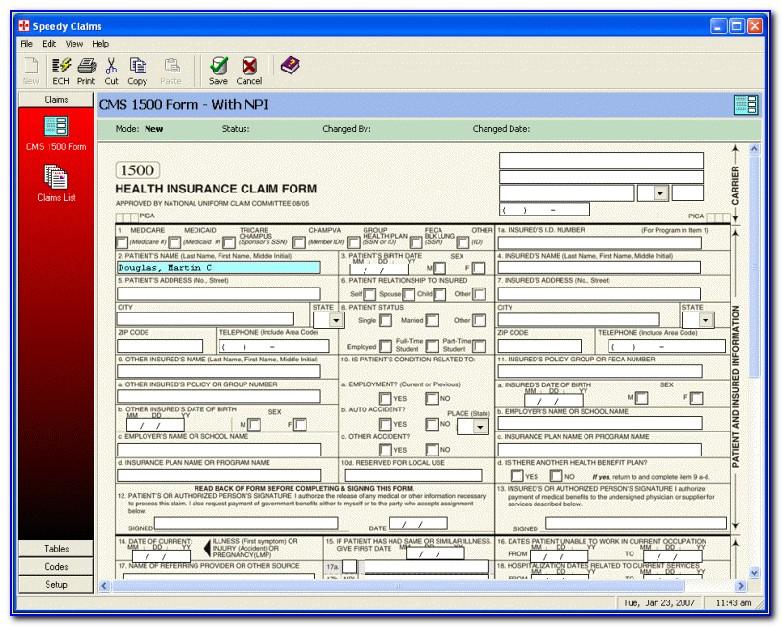 Aflac Hcfa 1500 Form Download