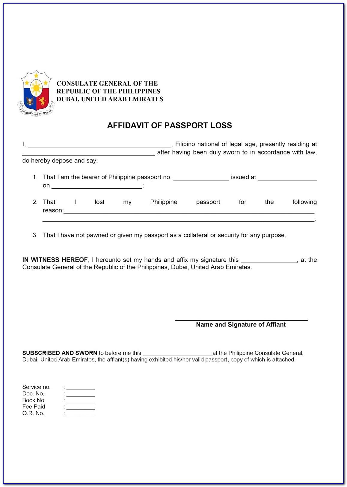 on www dfa pport application form
